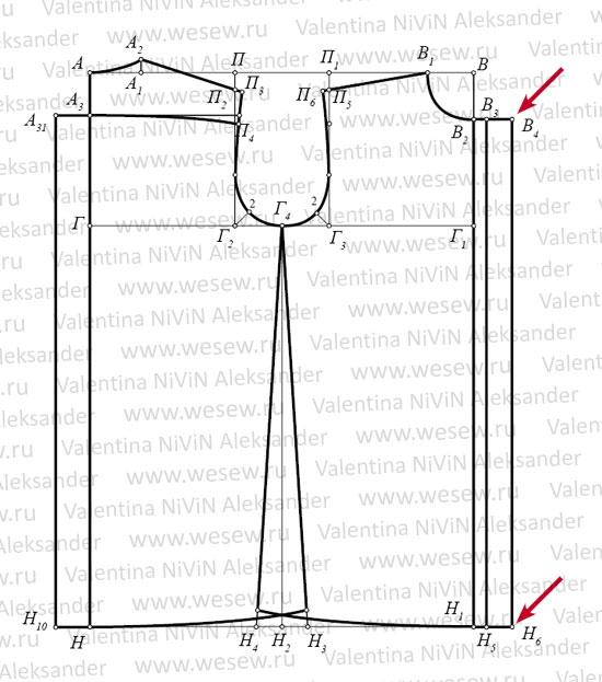 Схема для вышивки конверт