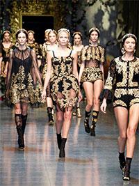 Показ Dolce & Gabbana осень-зима 2012-2013