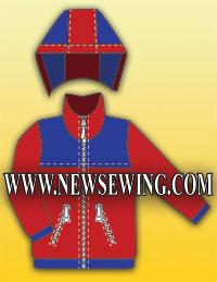Бесплатная выкройка детской курточки на рост 98 – 122см. Готовая выкройка.