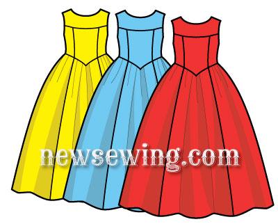 Бальное платье своими руками сшить фото